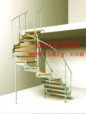 3D模型 旋转楼梯下载