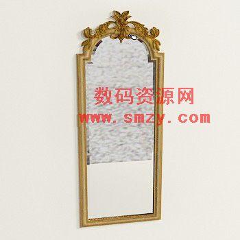 3d模型 欧式梳妆镜2下载