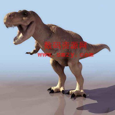 3d恐龙模型 霸王龙