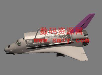 航天飞机模型下载 - 3d