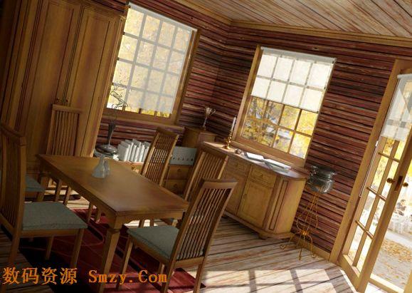 3d模型 室内装修效果图5 2高清图片