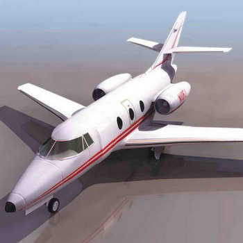 飞机模型 小型客机9