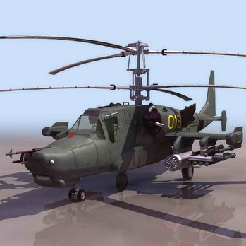 3d武装直升飞机模型