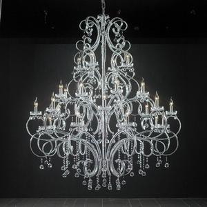 水晶灯3d模型 意大利吊灯