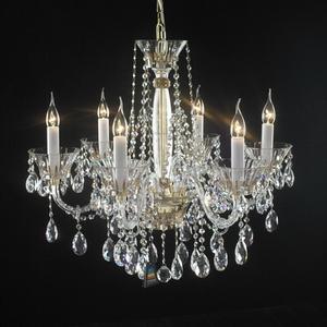 水晶灯3d模型 客厅欧式吊灯下载