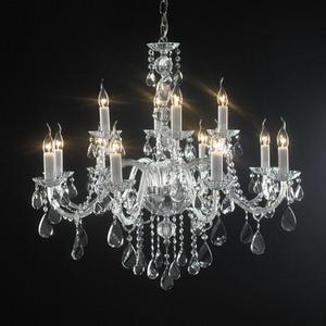 水晶灯3d模型 现代水晶吊灯