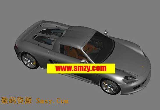 汽车3D模型 保时捷跑车下载