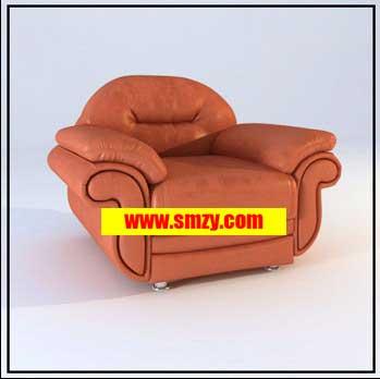 家具3d模型 现代单人沙发