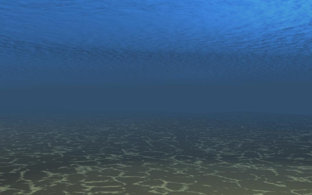 3ds max实例-简单的海底制作