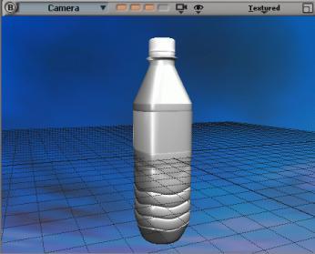 用xsi制作真实的矿泉水瓶