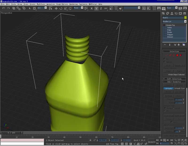 3d建模-矿泉水瓶图片