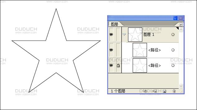 图案解锁设计五角形