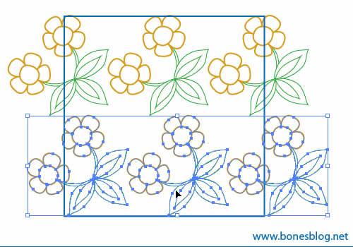 illustraotr cs2教程-简单方法来制作四方连续图案