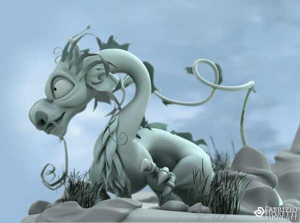 fioretti的cg中国龙