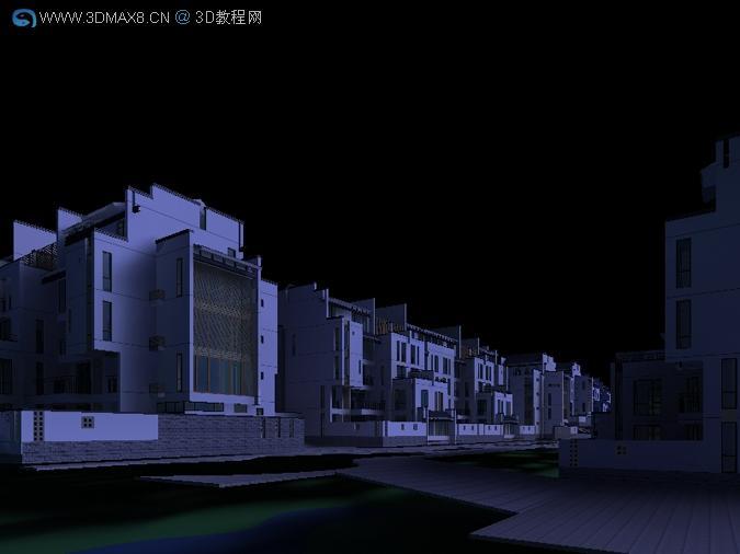 建筑渲染 效果图 教程 微信息