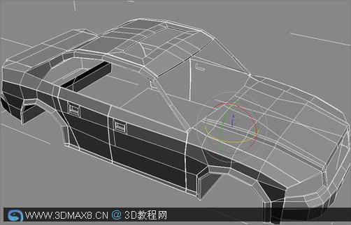 3dmax汽车建模教程 关键步骤
