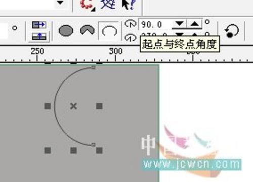 CorelDraw教程 快速制作太极图形