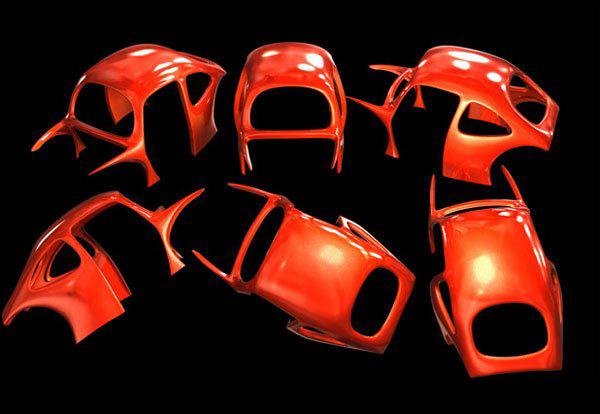 maya教程 制作小甲壳虫汽车详细过程