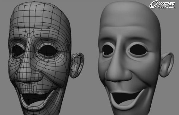 手工制作笑脸面具图片
