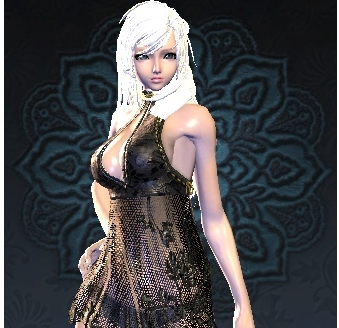 剑灵银发美女