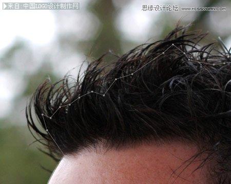 ps抠图换背景教程 快速抠出人物头发更换背景