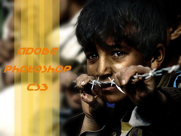 PS图片处理教程 调出质感古铜色皮肤的儿童照片