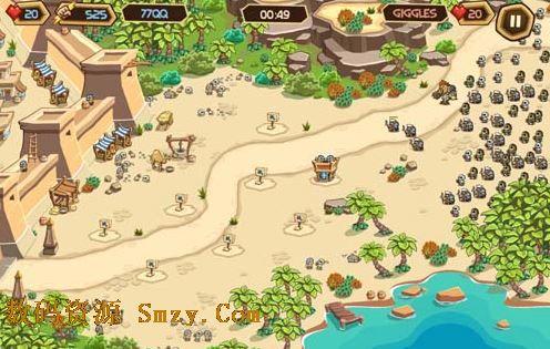策略游戏Empires of Sand《沙漠帝国》:守城与建设两手抓1