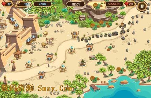 策略游戏Empires of Sand《沙漠帝国》:守城与建设两手抓2