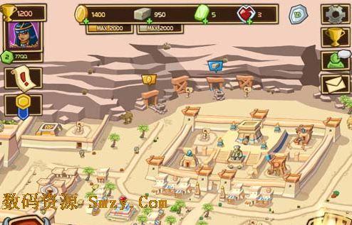 策略游戏Empires of Sand《沙漠帝国》:守城与建设两手抓3