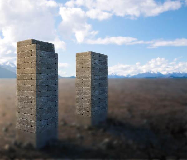 利用Photoshop为风景图片添加水面结冰效果 图5