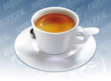 咖啡杯矢量图