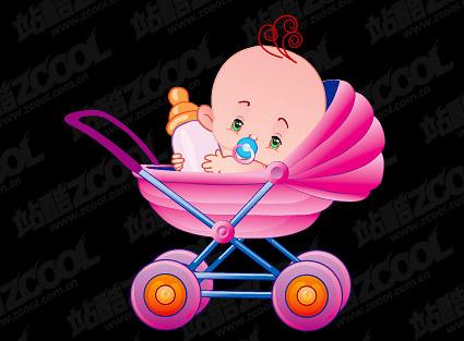 婴儿背影图片大全可爱