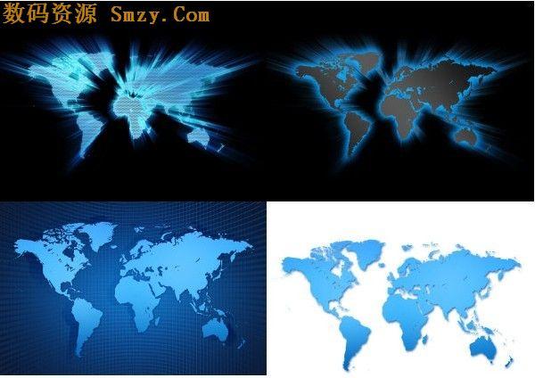 世界地图背景高清图