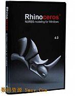 ϬţNurbs��ģ���� Rhinoceros v4.0 SR6 Ӣ�İ�
