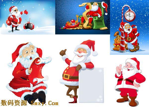 圣诞老人 高清图片素材
