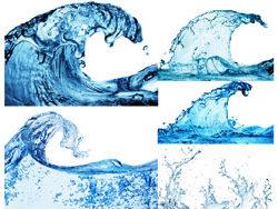 水元素主题矢量素材图片