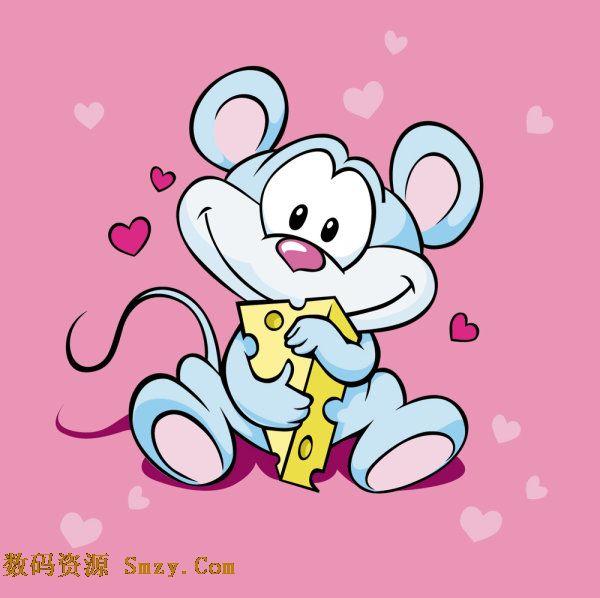 卡通动物 之可爱老鼠矢量素材