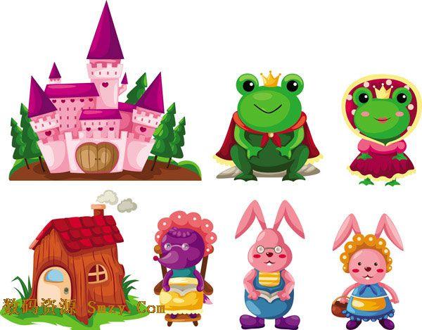 tag 标签:动物青蛙兔子城堡 推荐软件:可爱卡通山羊对话框矢量素材 这