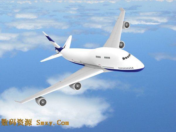 高清航空飞机图片素材