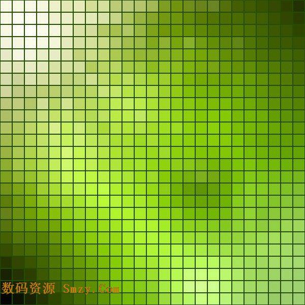 绿色马赛克背景图片矢量素材下载