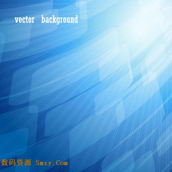 一张动感十足的科技背景矢量图片素材,以蓝色调为主要背景颜色,上面