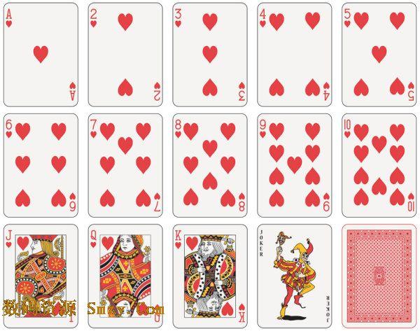 扑克牌图片矢量素材下载