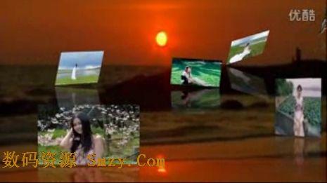 会声会影x4免费模板 唯美风景相册视频模板下载