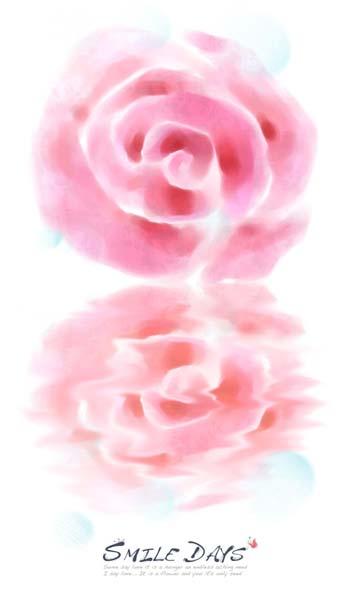 数码资源网 资源下载 平面素材 psd素材 传统 → 水彩倒影粉色玫瑰psd