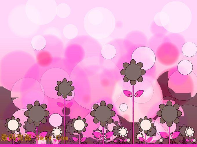 用花瓣摆出简单图案