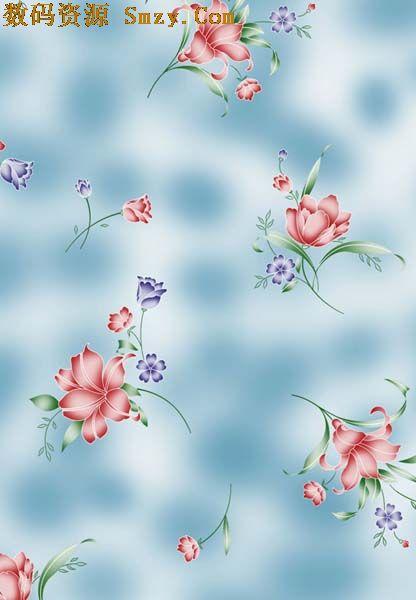 清晰碎花背景高清图片