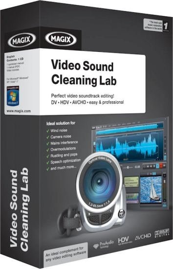 MAGIX��Ƶ������� MAGIX Video Sound Cleaning Lab v1.0�ر��