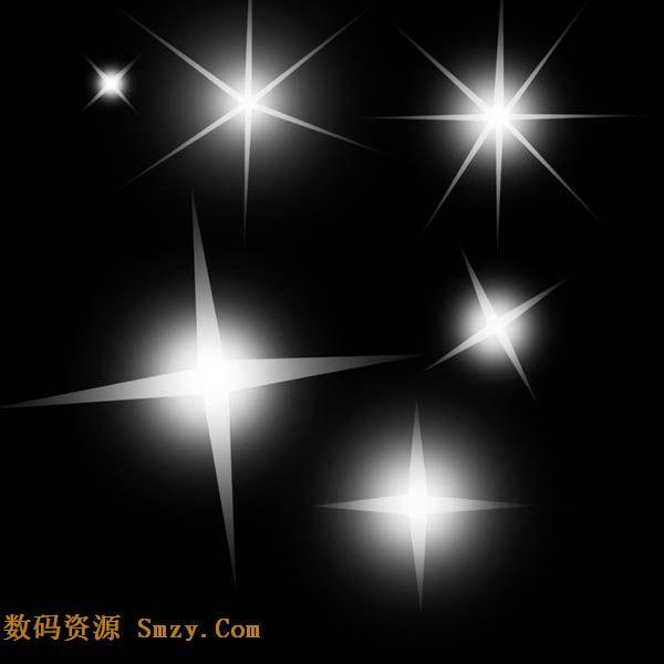 闪耀的星光PS笔刷下载