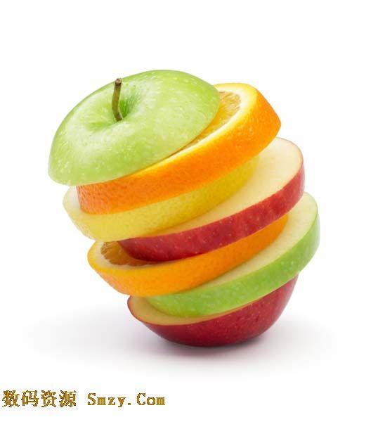 创意水果拼接组合高清图片