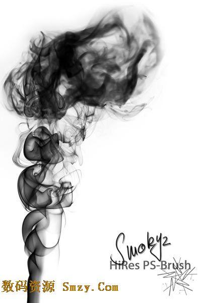 photoshop烟雾笔刷下载